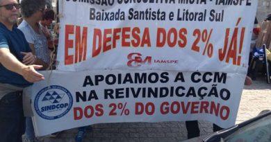 Entidades filiadas à federação estiveram presentes no protesto a favor do Iamspe