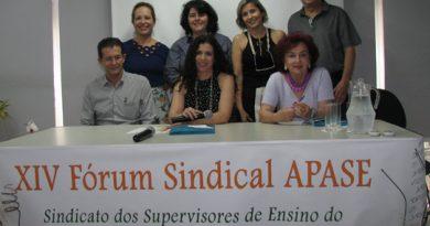 Diretores da Fessp- Esp participam do XIV Fórum Sindical da Apase