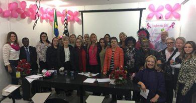 Diretoria da Mulher da Fessp-Esp realiza evento Outubro Rosa