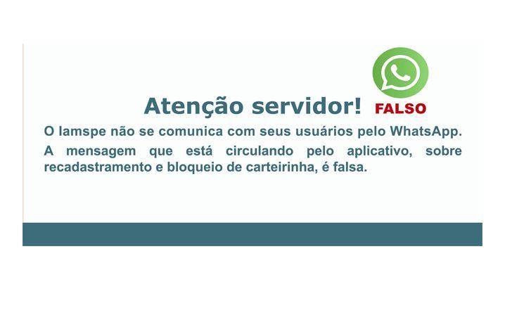 ALERTA DO IAMSPE