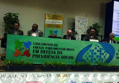 Fessp-Esp participa do lançamento da Frente Parlamentar em Defesa da Previdência Social