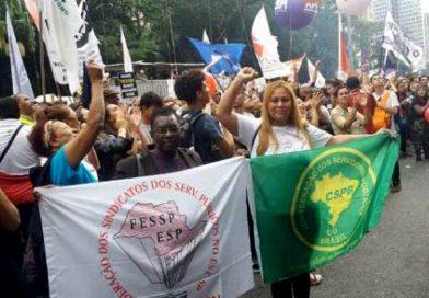 SP: Fessp-Esp e CSPB participam das manifestações em defesa da Educação