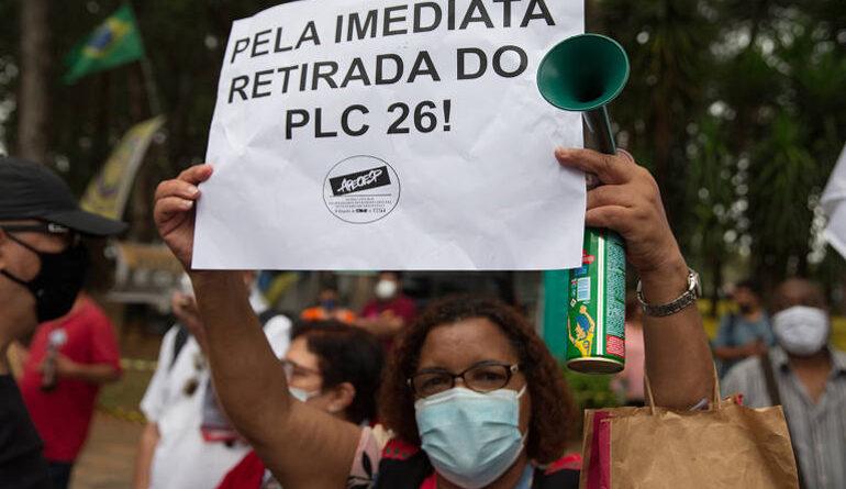 Frente organiza ações contra PLC 26