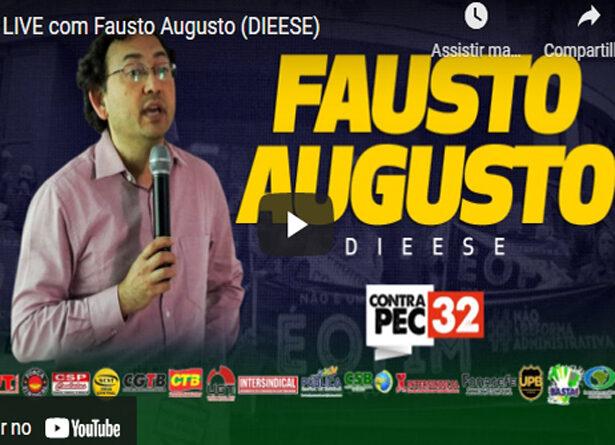 Fausto do Dieese aponta retrocessos mantidos da PEC 32