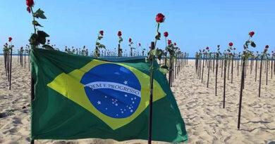 Brasil ultrapassa a trágica marca de 500 mil mortes pela Covid-19