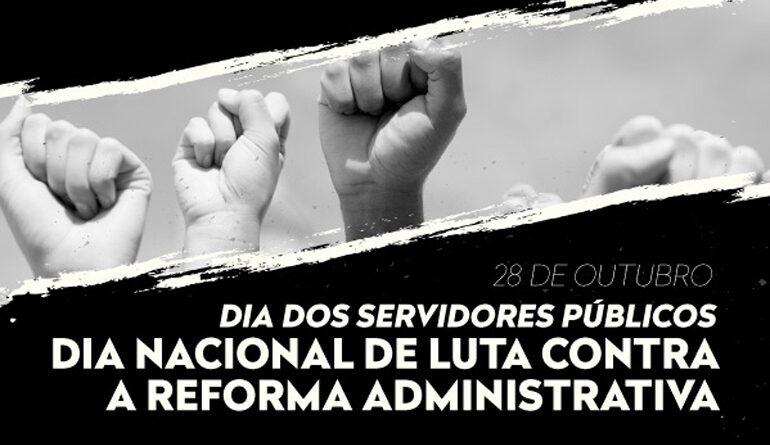 Servidores denunciam parlamentares a favor da PEC 32